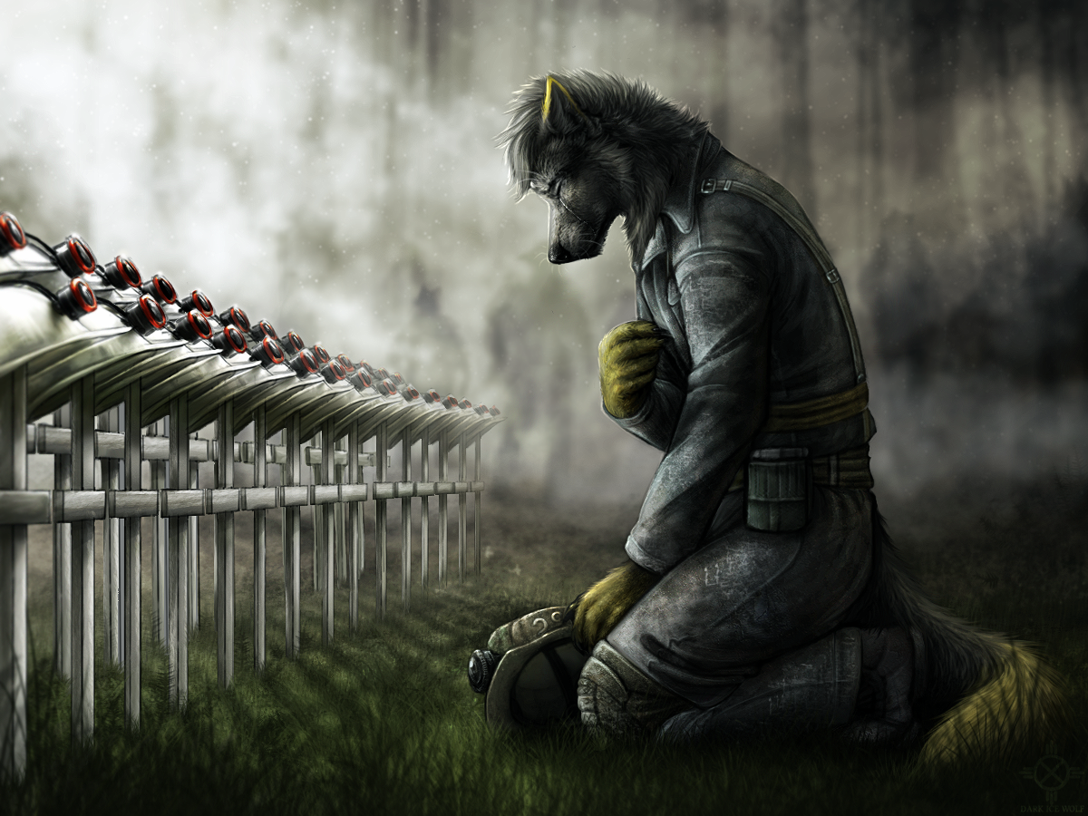 In Memoriam by DarkIceWolf
