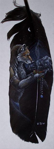 Feather- Midnight Memories by DarkIceWolf