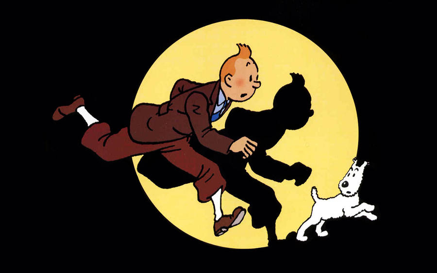 tintin and snowy wallpaper - photo #10
