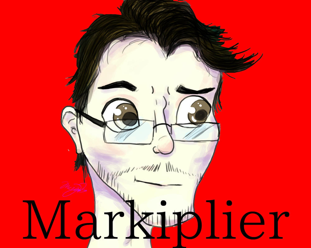 Markipliers Face by Megalomaniac-Mega