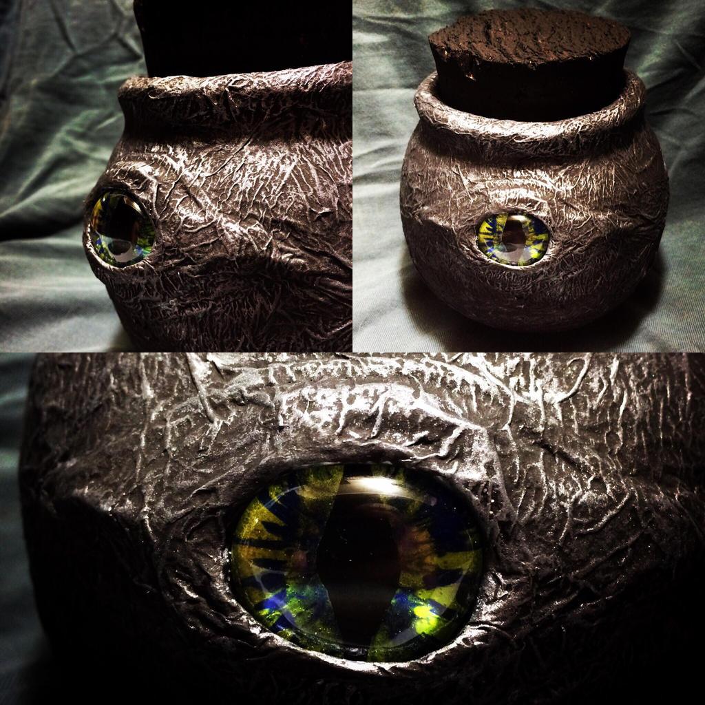 Dragons Eye Witches Jar by MissDrea85 on DeviantArt