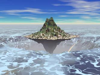 Shoreless Island by petelea