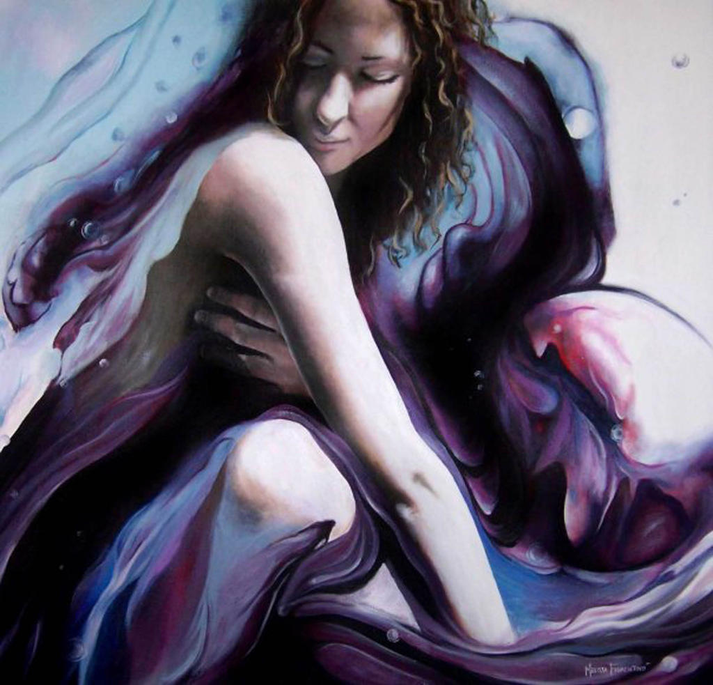 Lavender by MelFiorentinoArt