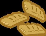 Apple fritter cutie mark vector