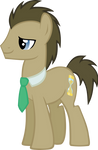 Request: Doctor Whooves vector