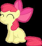 Request: Smiling Applebloom vector
