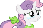 Request: Sweetie Belle crying with happiness