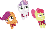 Request: CMC cowering in fear
