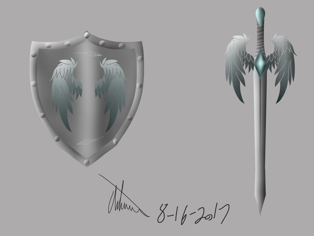 Sword and sheild by Duke-Dontalion
