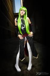 C.C. - Code Geass r2 cosplay