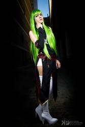 C.C. - Code Geass r2 cosplay 2