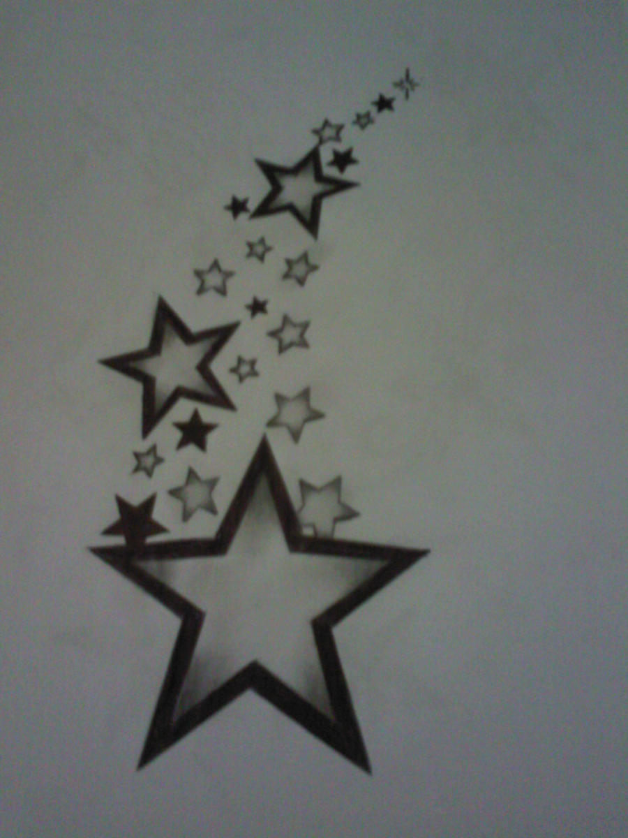 Star Tattoo Design By Tattoosuzette Designs Interfaces