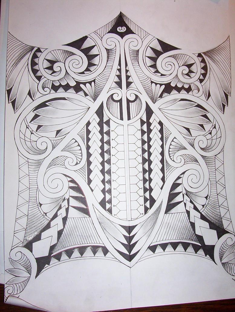 maori tattoo design by tattoosuzette