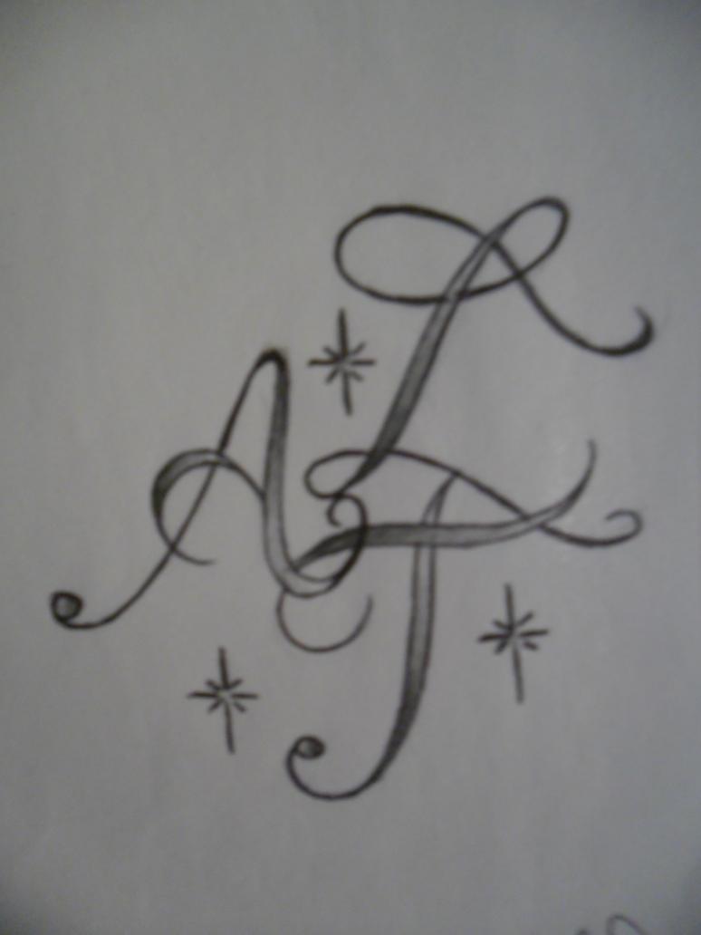 alphabet script tattoo design by tattoosuzette on deviantart. Black Bedroom Furniture Sets. Home Design Ideas