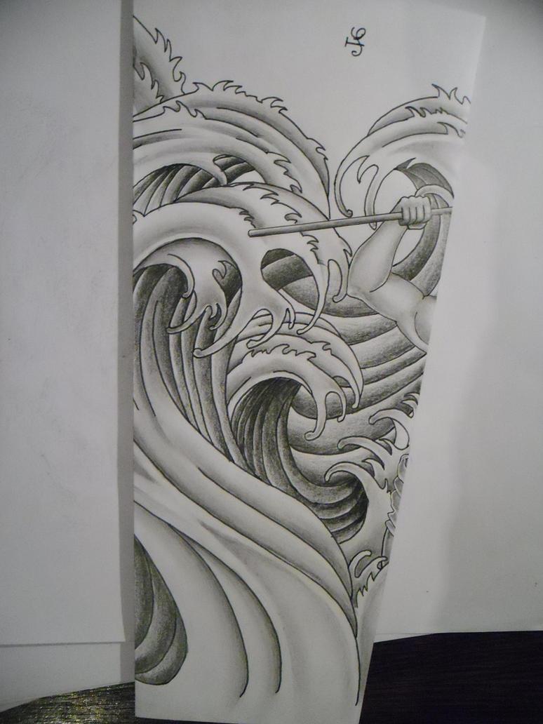 water tattoo design by tattoosuzette on DeviantArt