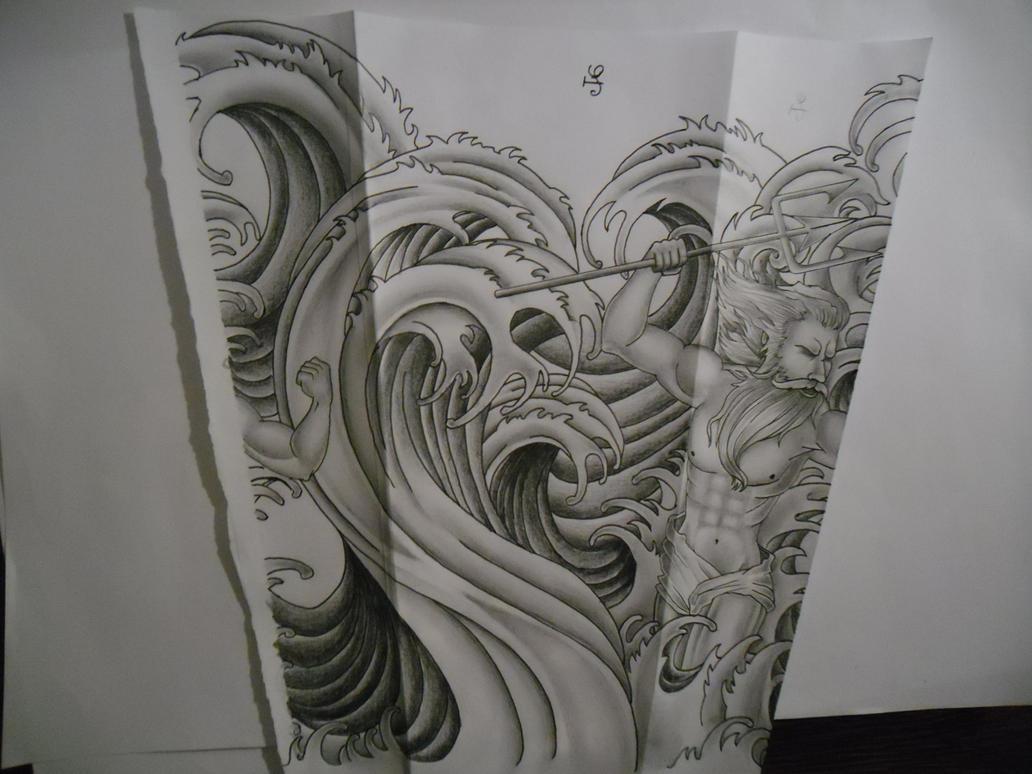 Water waves tattoo design by tattoosuzette on deviantart water waves tattoo design by tattoosuzette izmirmasajfo