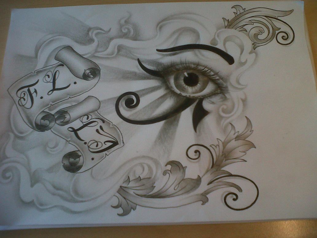 horus eye tattoo design by tattoosuzette on deviantart. Black Bedroom Furniture Sets. Home Design Ideas