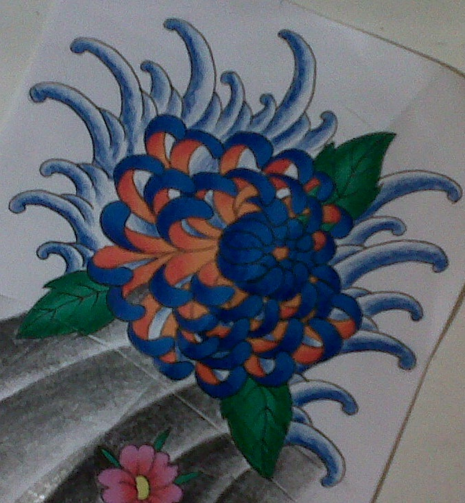 japanese flower tattoo design by tattoosuzette on DeviantArt