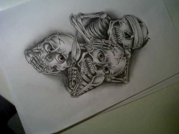 See no evil  Hear no evil  Speak no evil tattoo by tattoosuzetteSee No Evil Hear No Evil Speak No Evil