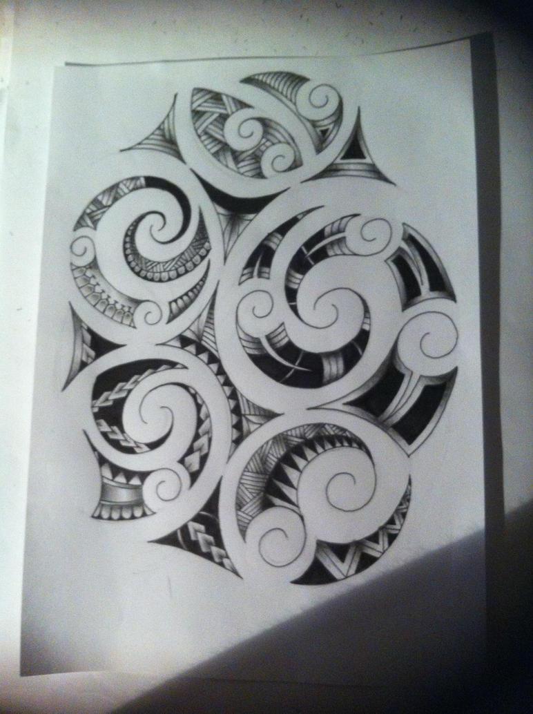 maori tattoo design by tattoosuzette on deviantart. Black Bedroom Furniture Sets. Home Design Ideas