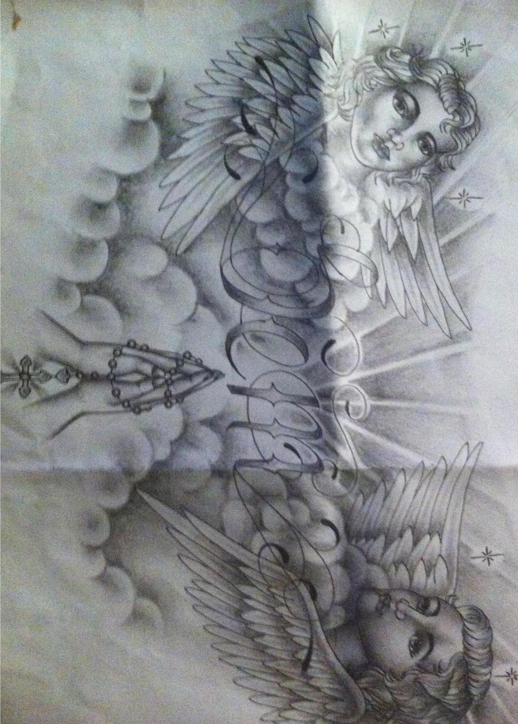 Religious Chest Tattoo Design By Tattoosuzette On DeviantArt