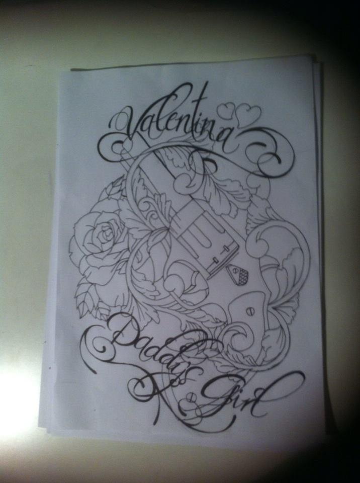 ae6b00f96 Old school tattoo design by tattoosuzette on DeviantArt