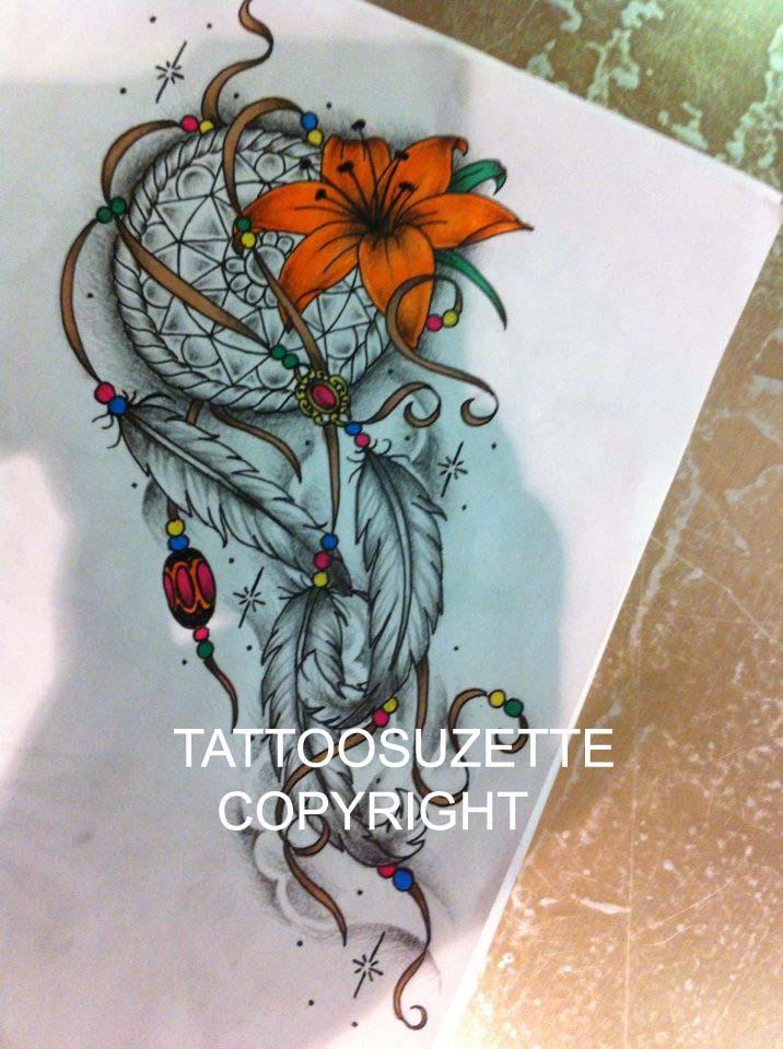 Dream catcher tattoo design by tattoosuzette on DeviantArt