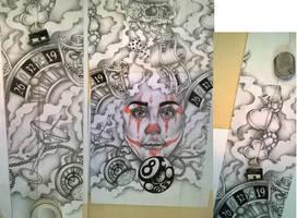 Casino tattoo design sleeve