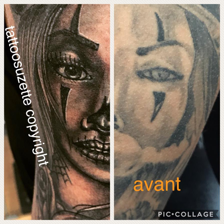 tattoo coverup by tattoosuzette