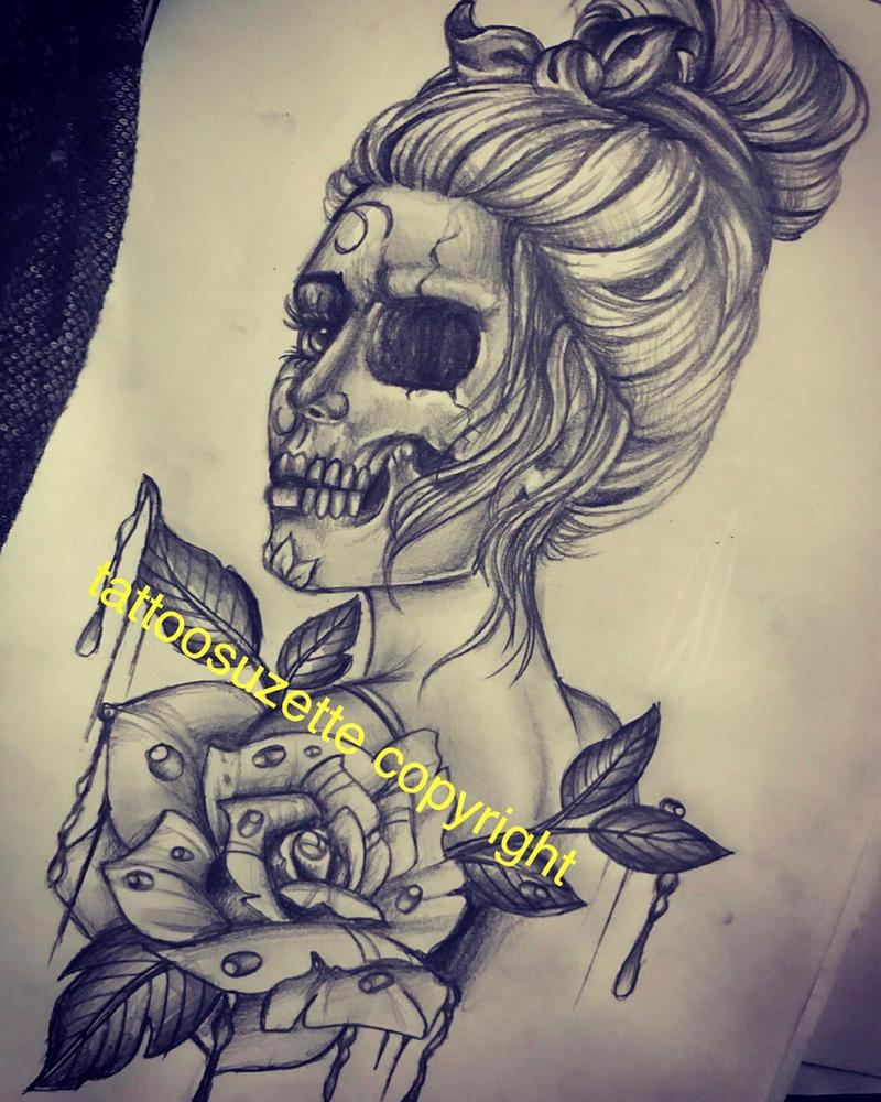 tatouage katrina by tattoosuzette