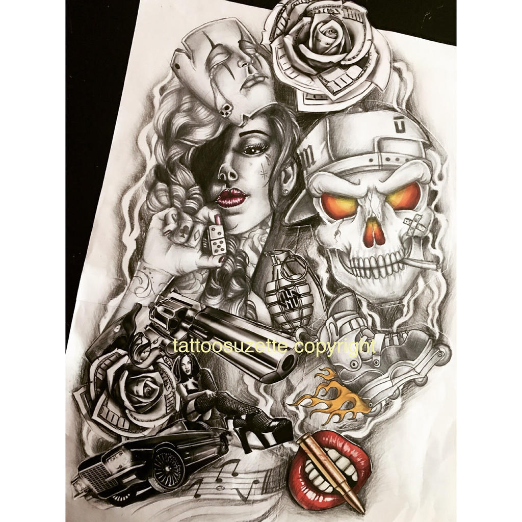 Casino Tattoo Designs