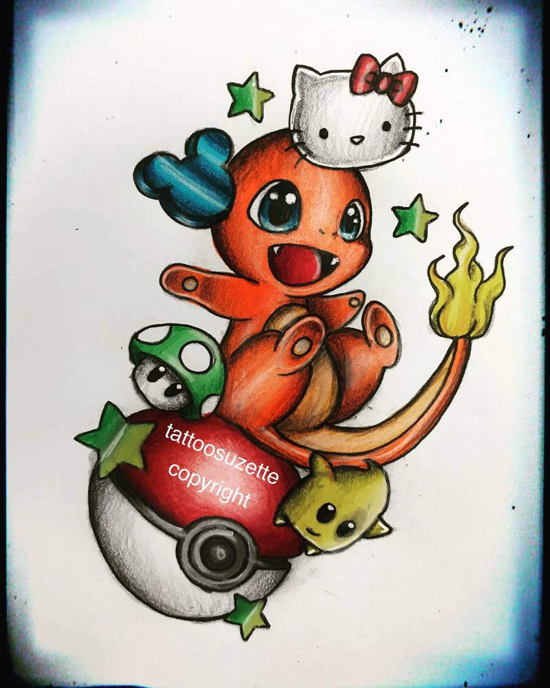 6500e6747 disney tattoo design pokemon by tattoosuzette on DeviantArt