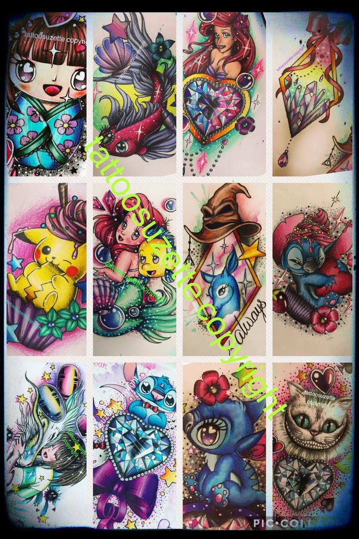 1fa3e3d23 tattoo disney kawaii by tattoosuzette on DeviantArt