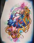 sailor moon tattoo design