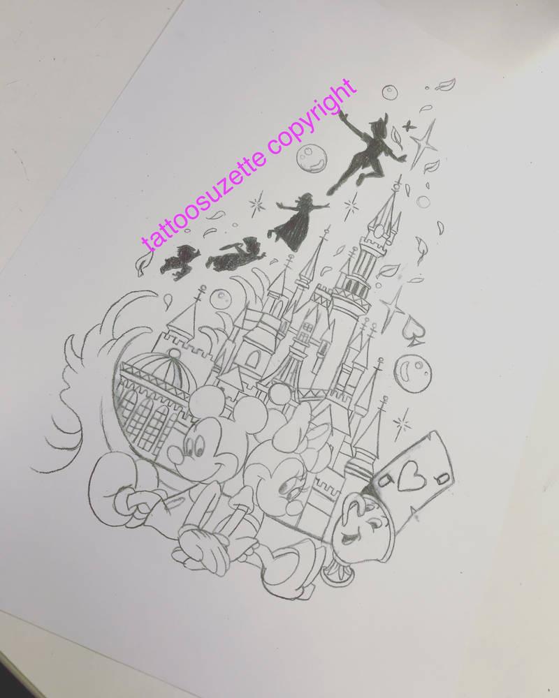 847d407be tattoo disney tatouage by tattoosuzette on DeviantArt