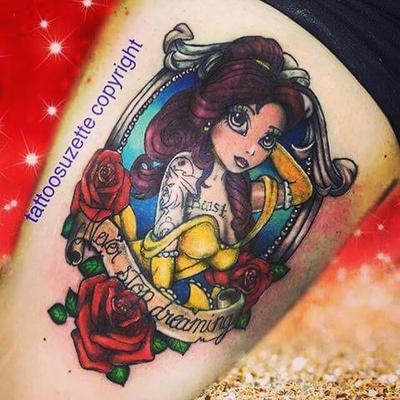 4cf3dd869 belle tattoo disney by tattoosuzette on DeviantArt