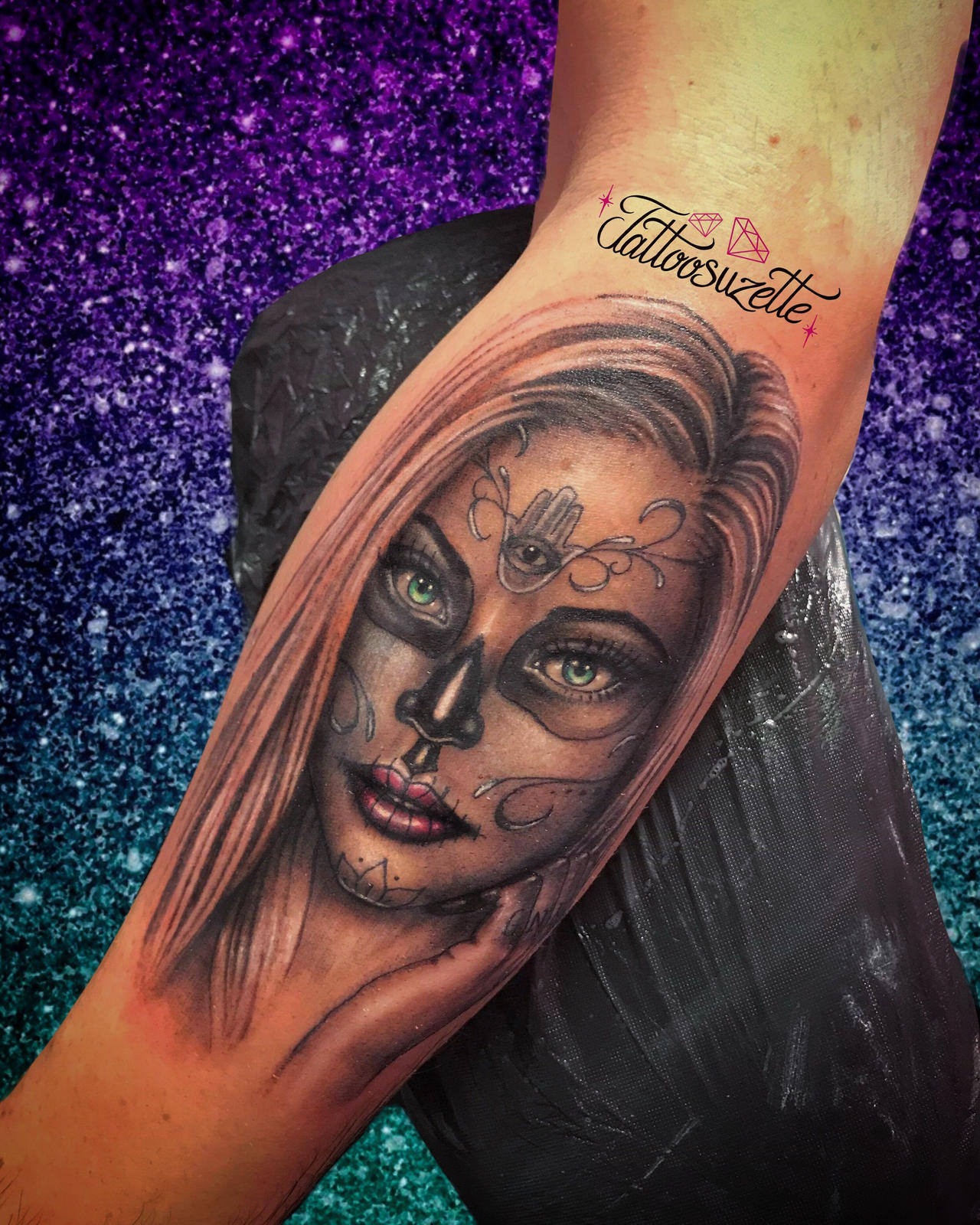Santa muerte tattoo by tattoosuzette on DeviantArt