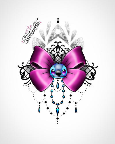 Tatouage Stitch Kawaii By Tattoosuzette On Deviantart