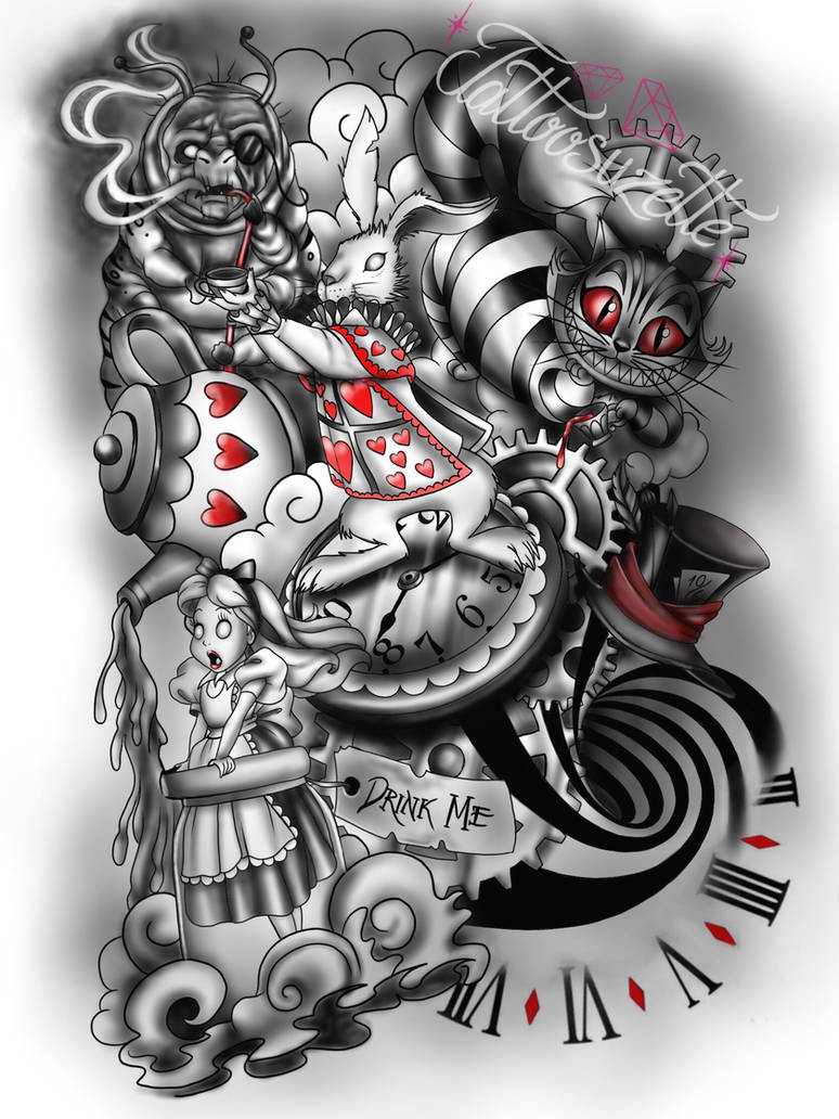 59a25a5ef Disney tattoo by tattoosuzette on DeviantArt