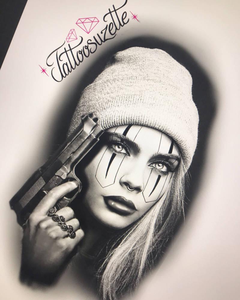 Chicanos Tattoo Design By Tattoosuzette On Deviantart