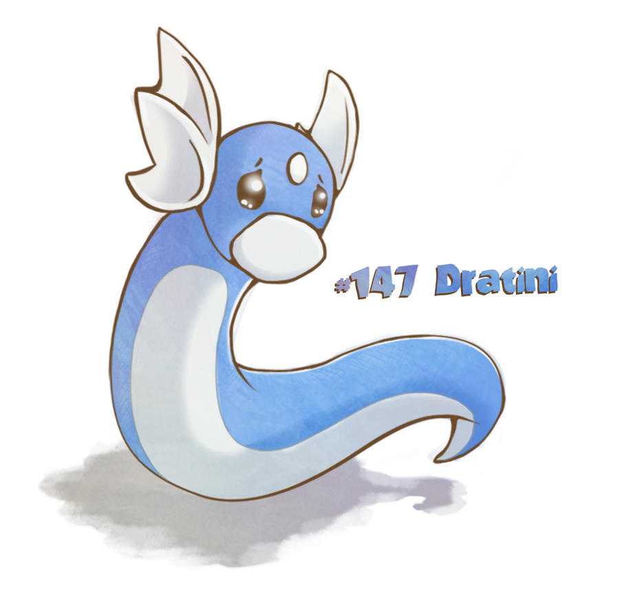 Dratini by Duhduch