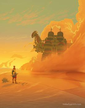 Gerudo Desert - Zelda BotW