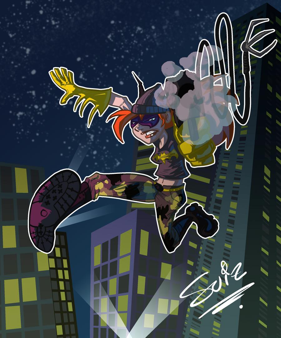 Batgirl by SuiZ
