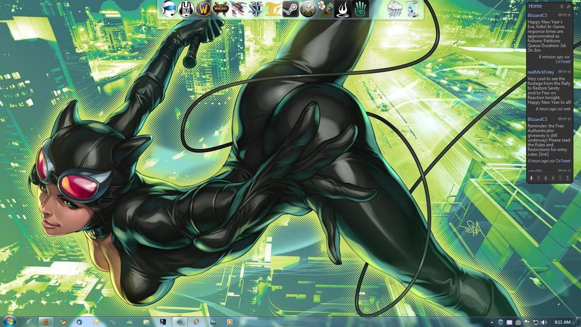 January Desktop '11 by nitetek
