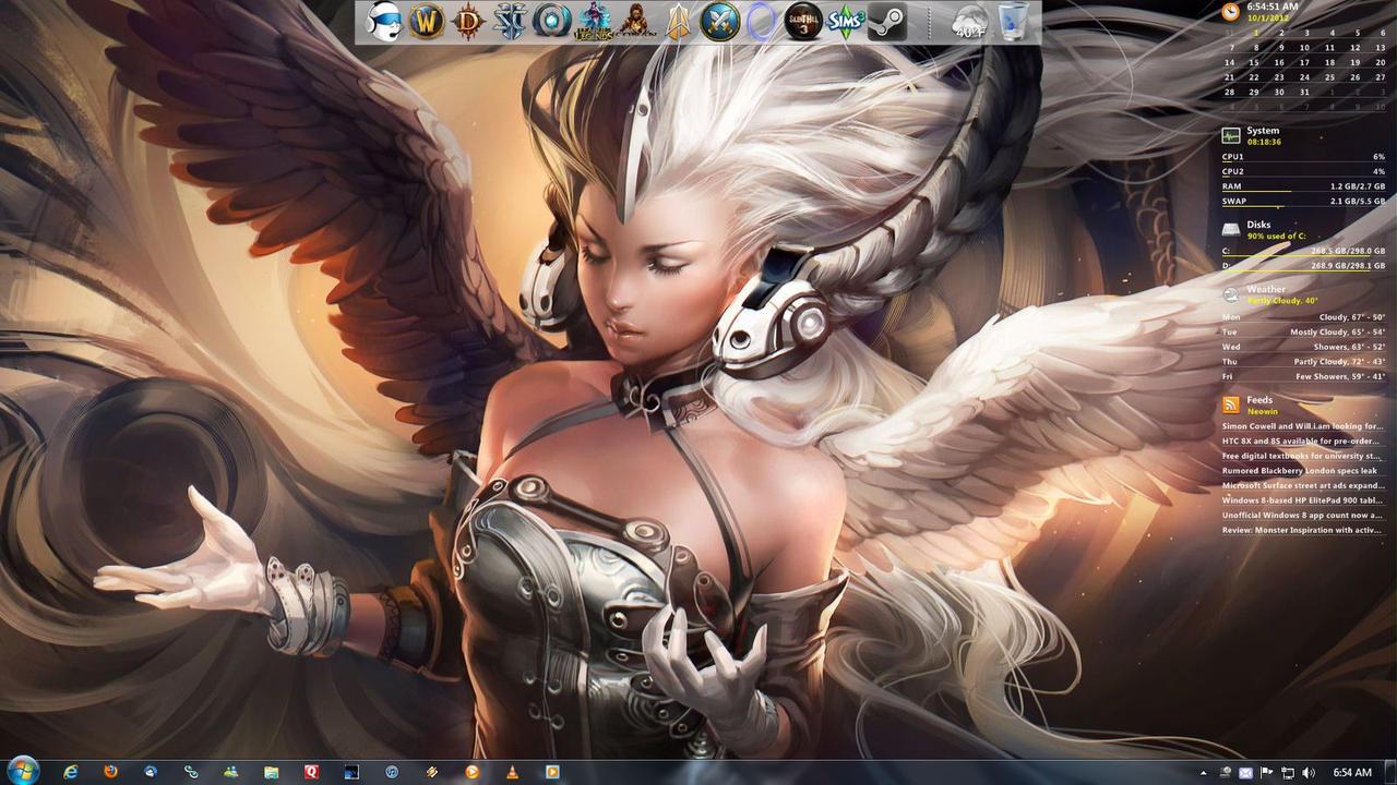 October Desktop '12