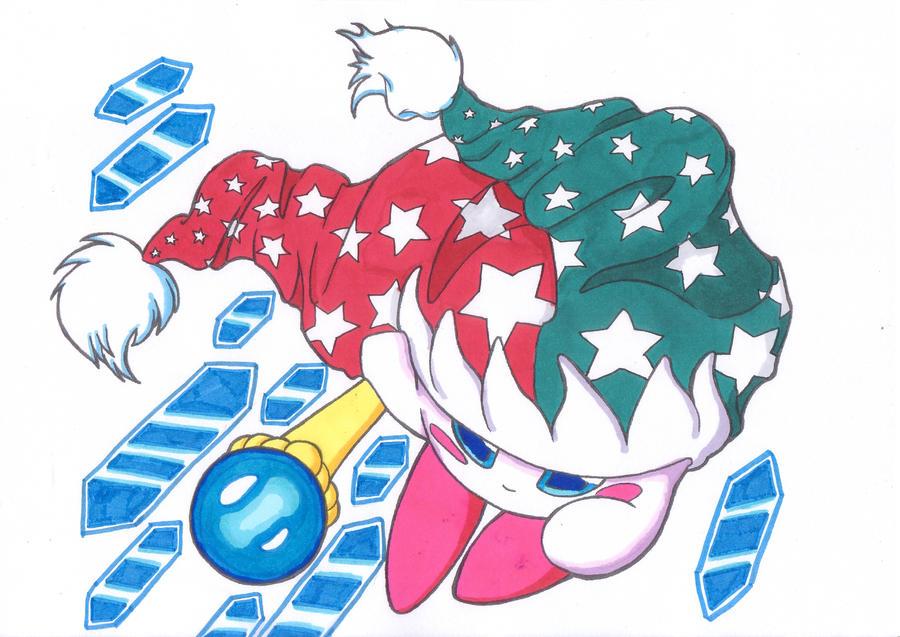 Mirror Kirby by Lunulata Mirror Kirby