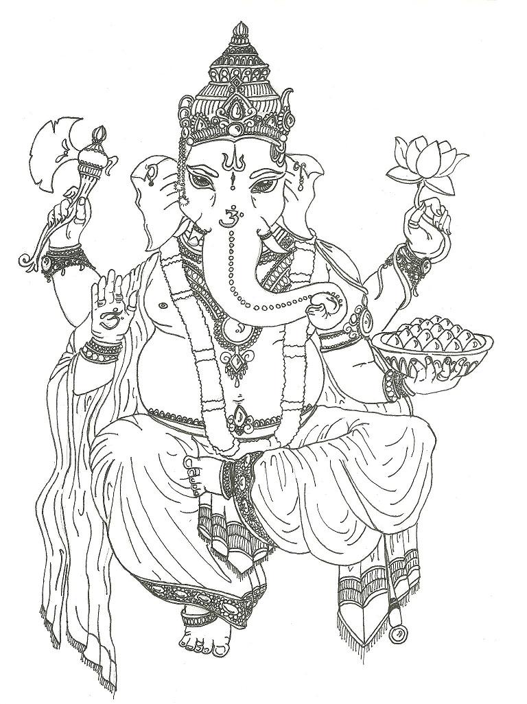 Ganesh Drawings