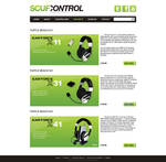 Scuf Control - Headset page