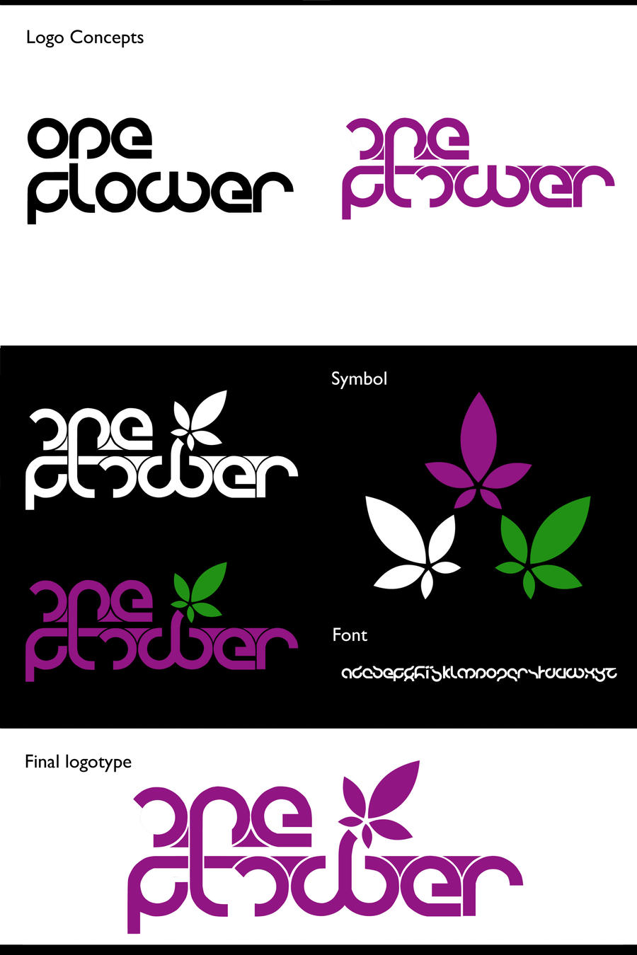 .:one_flower_logotype:. by 7UR