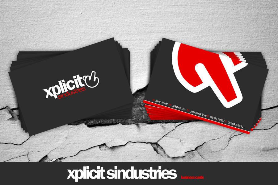 .:xplicit business cards:. by 7UR
